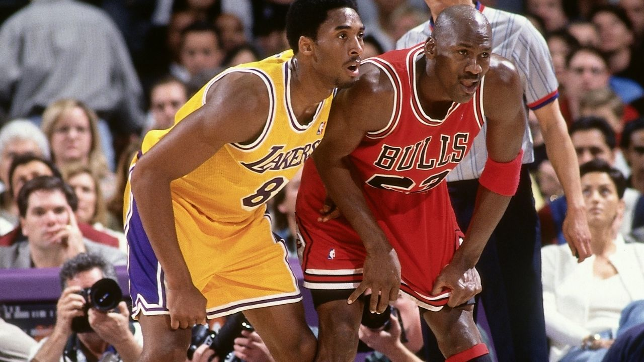 """""""I knew after his meeting with Michael Jordan, Kobe Bryant was going to be a legend"""": Allen Iverson reveals his first impressions on the Mamba's clash with the Bulls legend"""