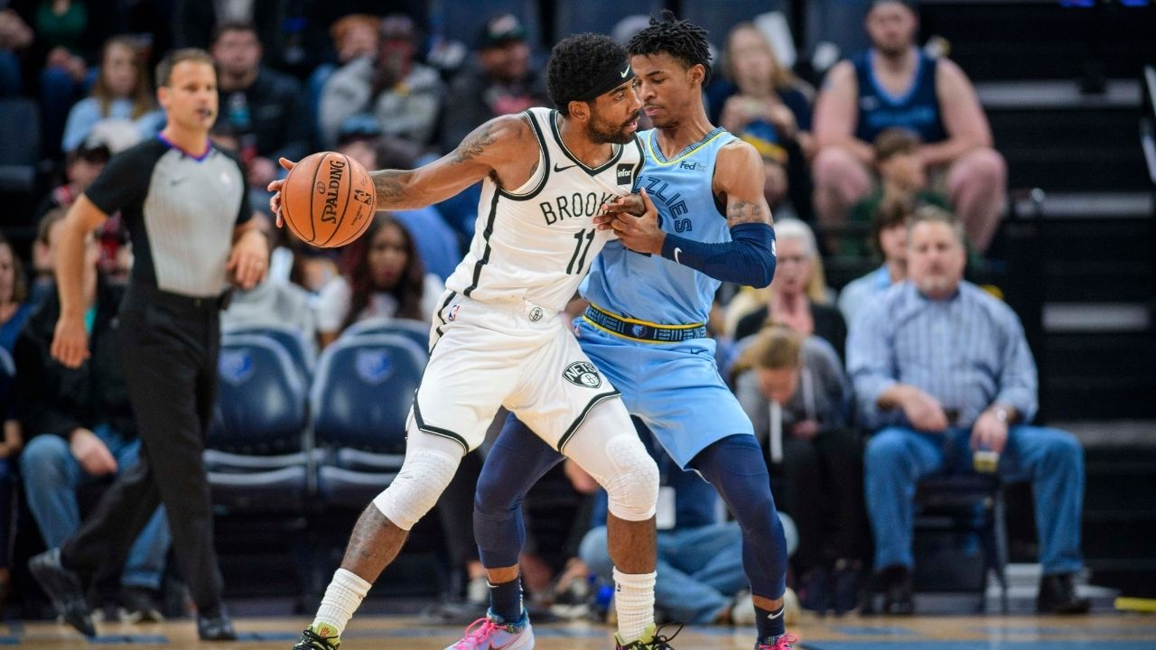 """""""I feel like I'm top 5 among NBA point guards"""": Ja Morant leaves Kyrie Irving out of his top 5 PG rankings, puts himself in above Nets star"""