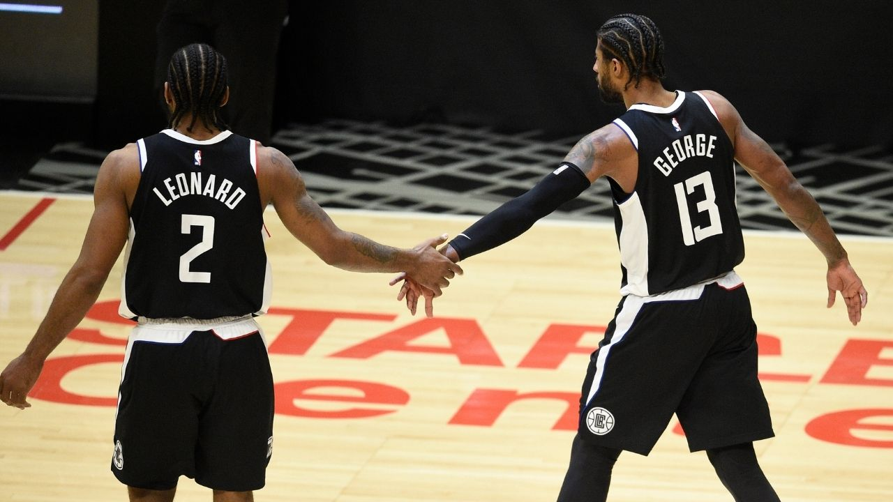 """""""Clippers gang or Don't Bang!"""": NBA Twitter goes crazy as Kawhi Leonard reveals his new drip and brand new smile during the NBA offseason"""
