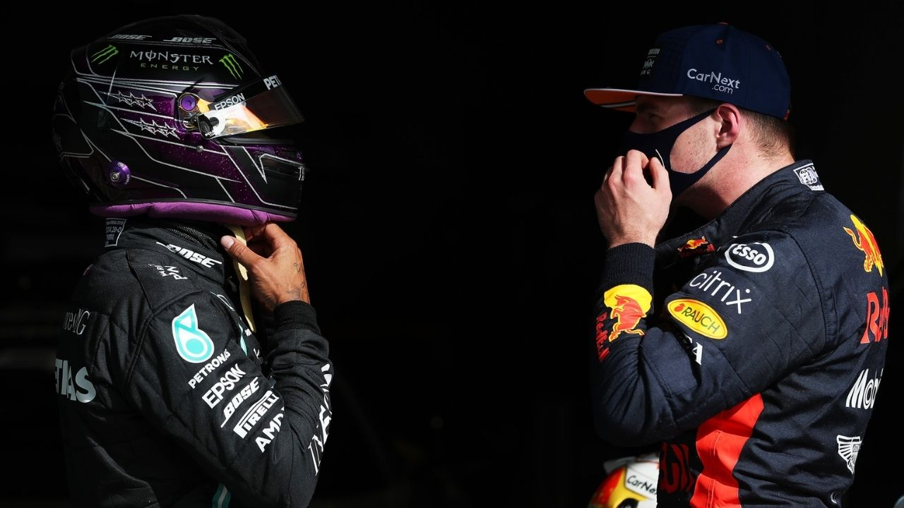 """""""They're only humans""""– F1 driver chief to hold conversation with Lewis Hamilton and Max Verstappen as another crash this season is """"very like"""