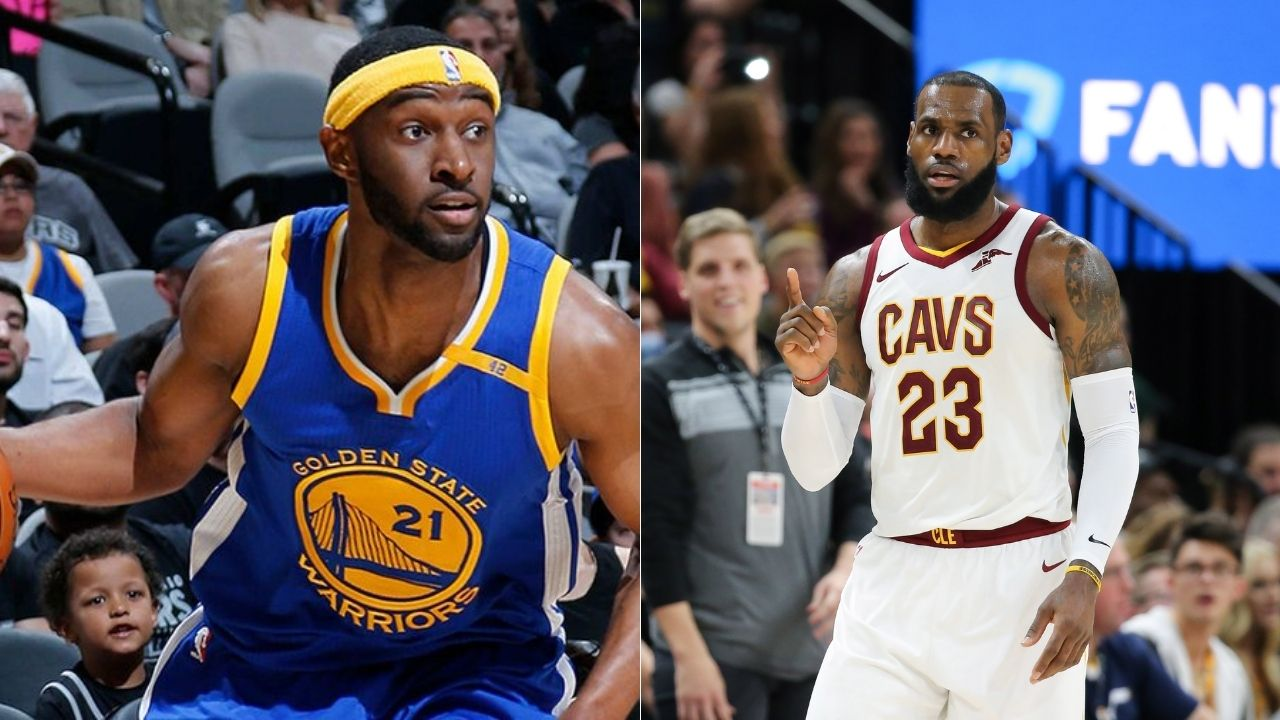 """""""LeBron James really did Ian Clark dirty with that block"""": When the Cavaliers superstar allowed the Warriors guard to steal the ball and drive past him only to distrustfully swat away the attempt"""