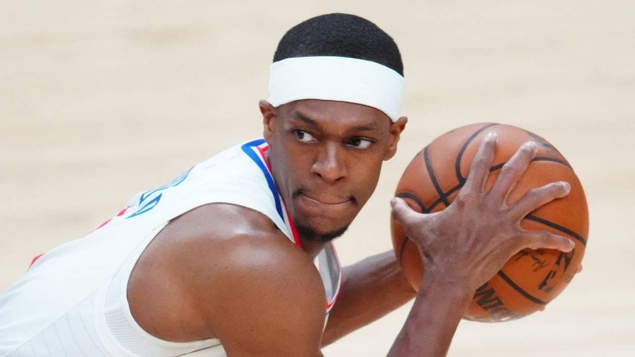 """Tennis Rajon Rondo is already a meme!"": NBA Twitter reacts as LeBron James's fellow Laker attains legendary meme status ahead of the 2021-22 NBA season"