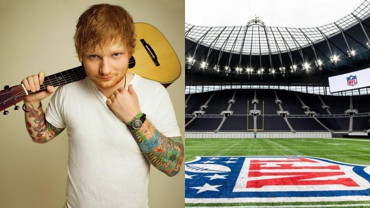 """Andy Dalton looking fresh"": NFL fans have hilarious reactions to Ed Sheeran performing live ahead of Bucs vs Cowboys season opener"
