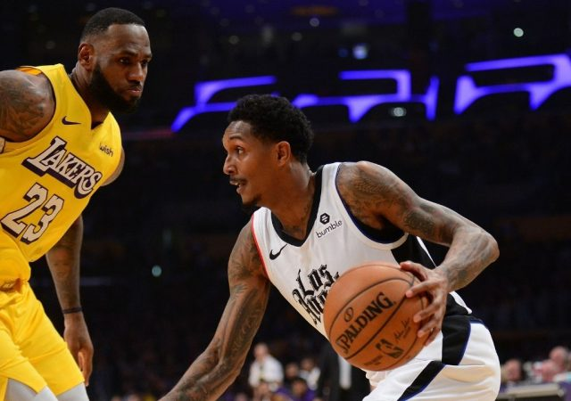 """""""Aye LeBron James, my mom still has our pictures from your rookie year!"""": Lakers superstar reacts as Lou Williams shares an adorable throwback picture of him and the King"""
