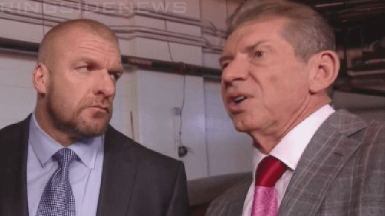 Triple H once challenged Vince McMahon's booking of former WWE Champion