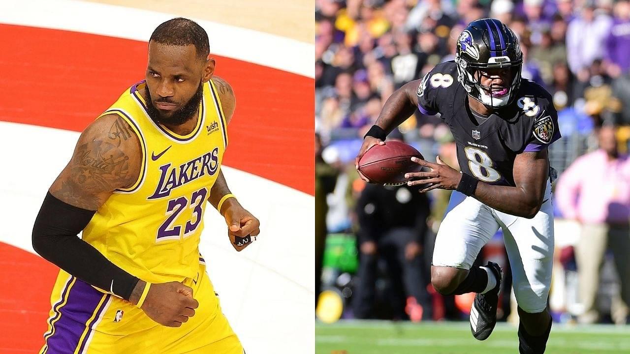 """Lamar Jackson said 'That's On Me' Love It!"": LeBron James, Damian Lillard, Zach Lavine And Other NBA Stars Are Awestruck By Insane Raiders-Ravens MNF Game"