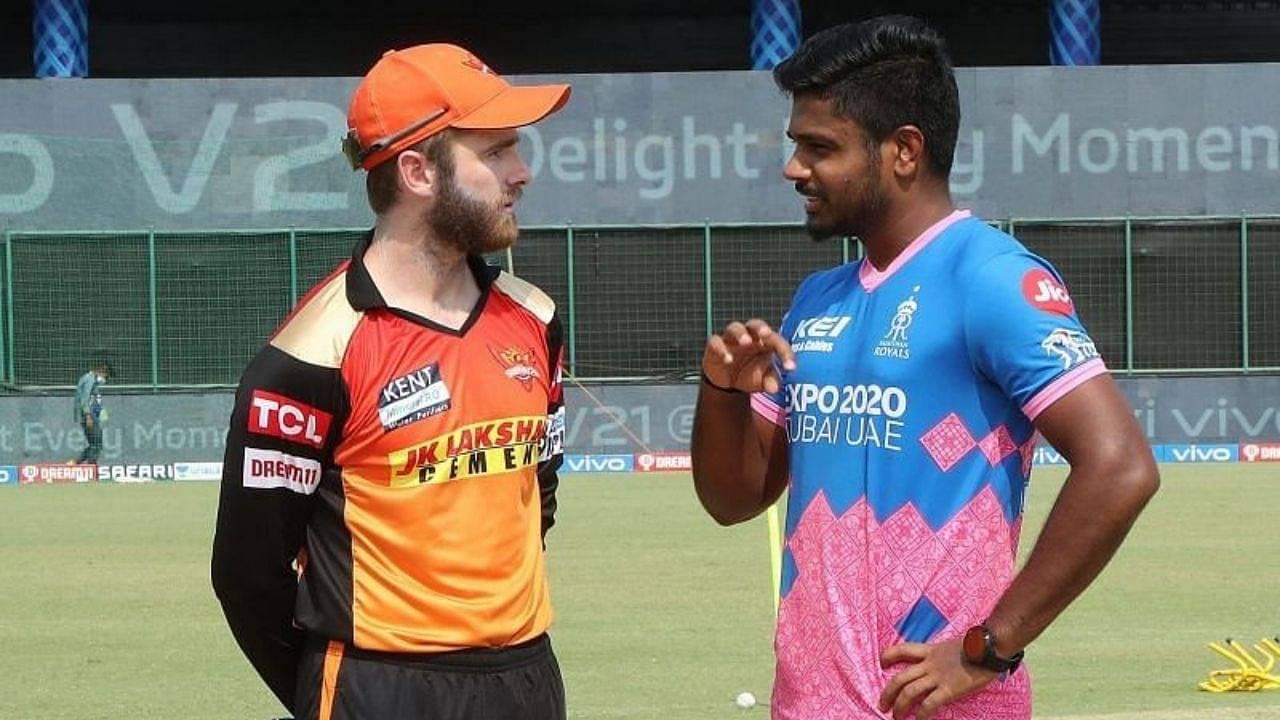 SRH vs RR Head to Head in IPL history | Sunrisers Hyderabad vs Rajasthan Royals IPL Stats | IPL 2021 Match 40