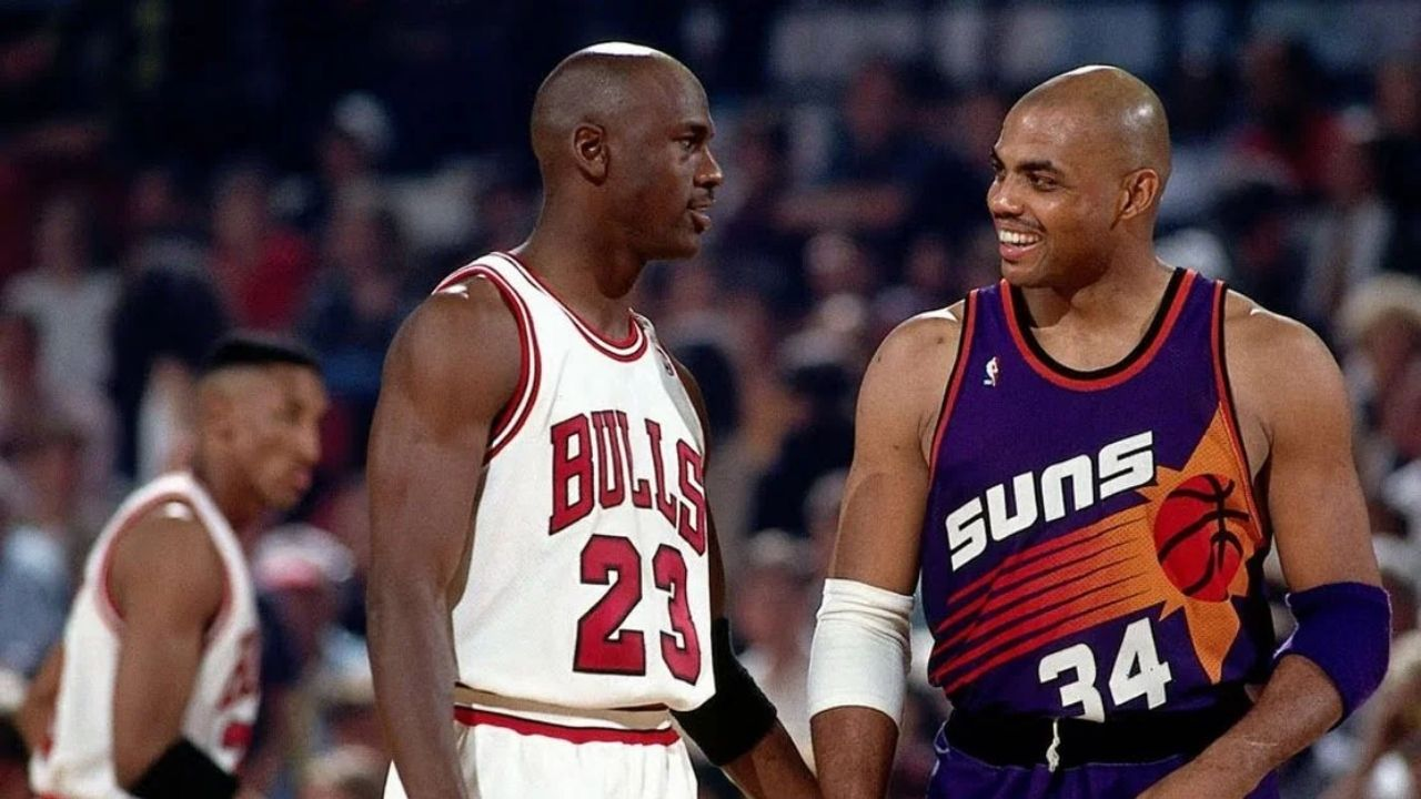 """""""We don't need Charles Barkley, now that we have Kwame Brown coming to Washington!"""" When Michael Jordan hilariously shut down the possibility of a MJ-Chuck team-up during the 2001 Draft"""
