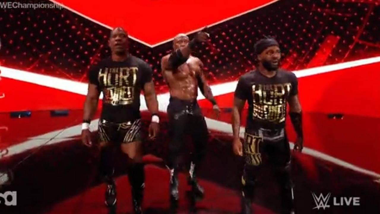 The Hurt Business reunite on WWE RAW tonight