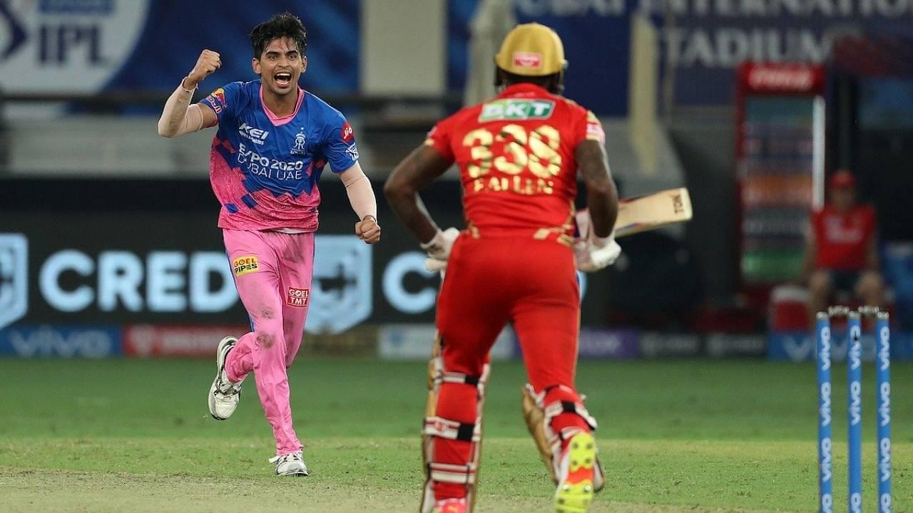 Why is Kartik Tyagi not playing today's IPL 2021 match vs Sunrisers Hyderabad?