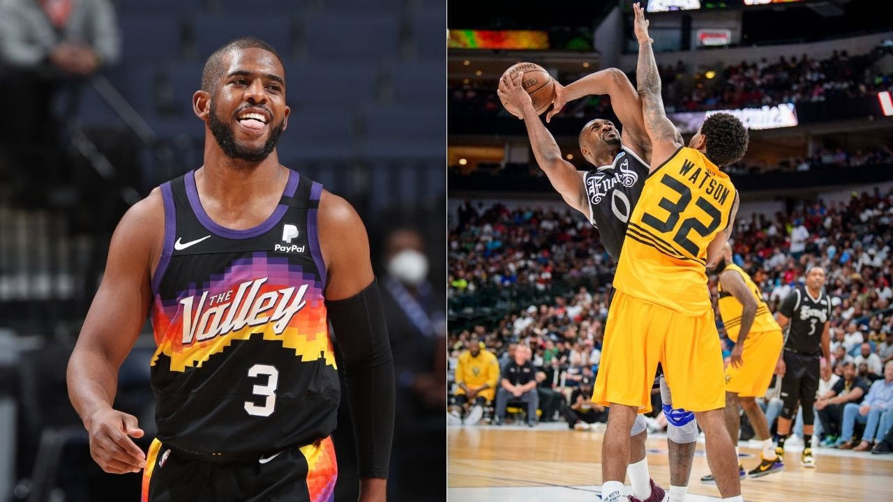 """""""I Busted Gil's A**!"""" Chris Paul Reminisces on pre-draft workouts with Gilbert Arenas on the No Chill Podcast"""