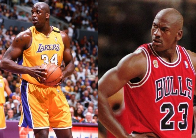 """""""Michael Jordan and Shaquille O'Neal are two of the most ruthless, cold-blooded killers I ever saw"""": Skip Bayless believes the GOAT-Shaq pairing would be the most dominant one winning 10 championships"""