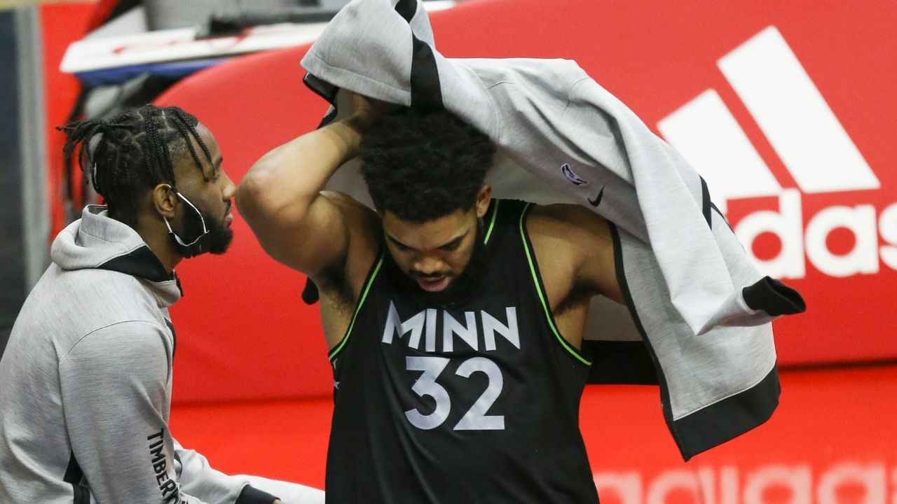 """""""SHUT YOU B**CH ASS UP!"""": Karl-Anthony Towns gets flamed for rightly calling out the anti-vaxxers community on NBA Twitter"""