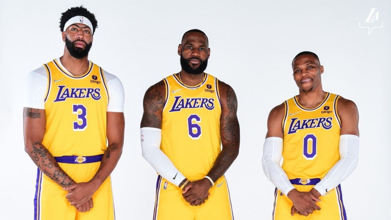 """""""Watch the 360 go 3/60 from the field"""": NBA Twitter reacts to LeBron James giving the Lakers Big 3 a new nickname"""