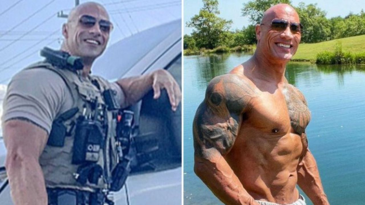 The Rock responds to viral picture of his doppelganger