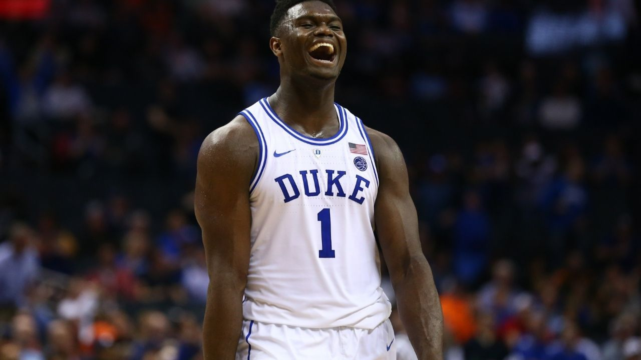 """""""Zion Williamson really almost popped the basketball during his Duke days"""": When the Pelicans sensation almost deflated the ball during a college game"""