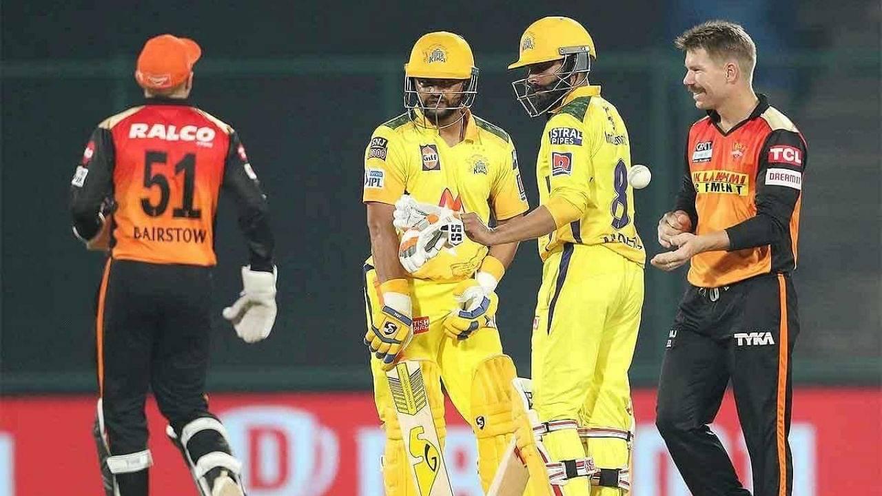 SRH vs CSK Head to Head Records in IPL | Sunrisers Hyderabad vs Chennai Super Kings stats | IPL 2021 Match 44