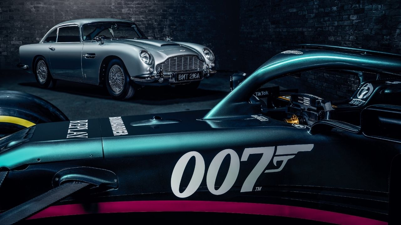 """""""Aston Martin is part of Bond's DNA""""– Aston Martin to race in Monza with special James Bond livery"""