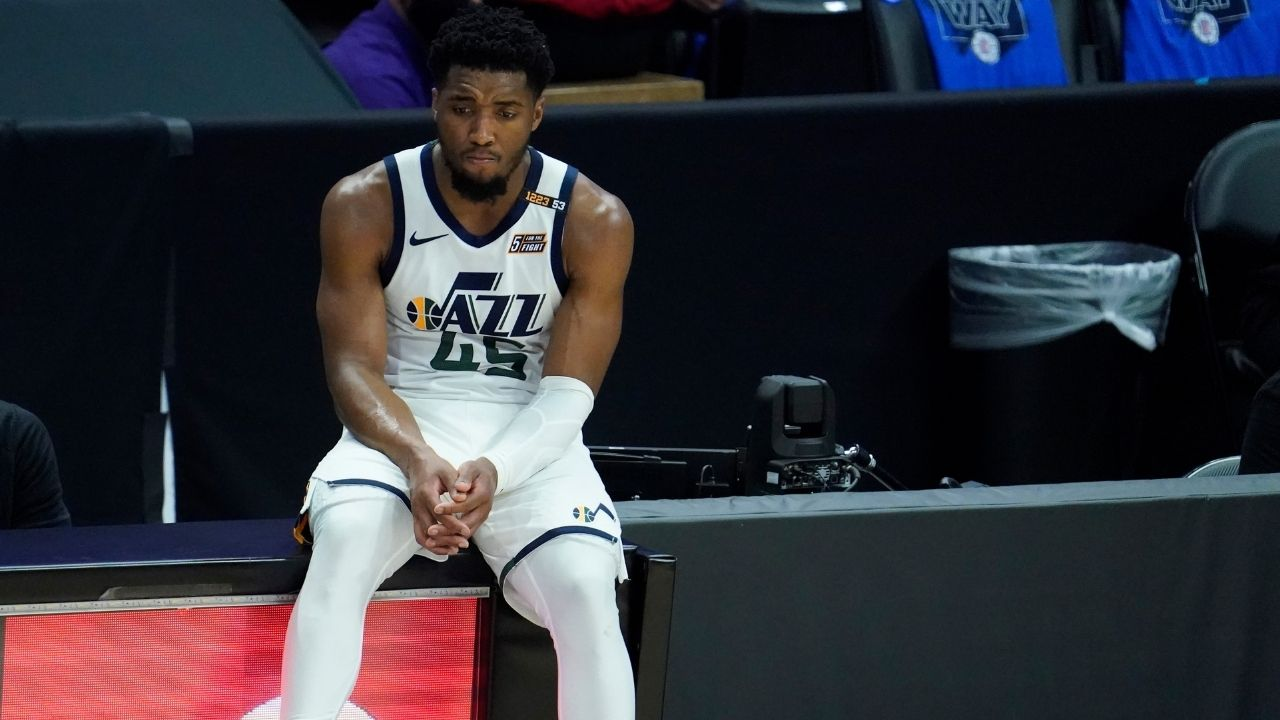 """""""If we were healthy, we would have beat the Clippers and the Suns to the Finals!"""": Jazz star Donovan Mitchell cites injuries as a major reason for his team's underperformance in the 2021 playoffs"""