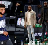"""""""Jaylen Brown, I'm too broke to gift you a car, fam!"""": Jamal Murray exchanges pleasantries with Celtics star ahead of 25th birthday"""
