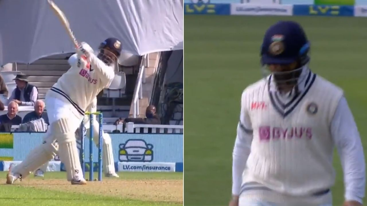 Rishabh Pant last 10 Test innings: Careless Pant gifts away his wicket to Chris Woakes in Oval Test