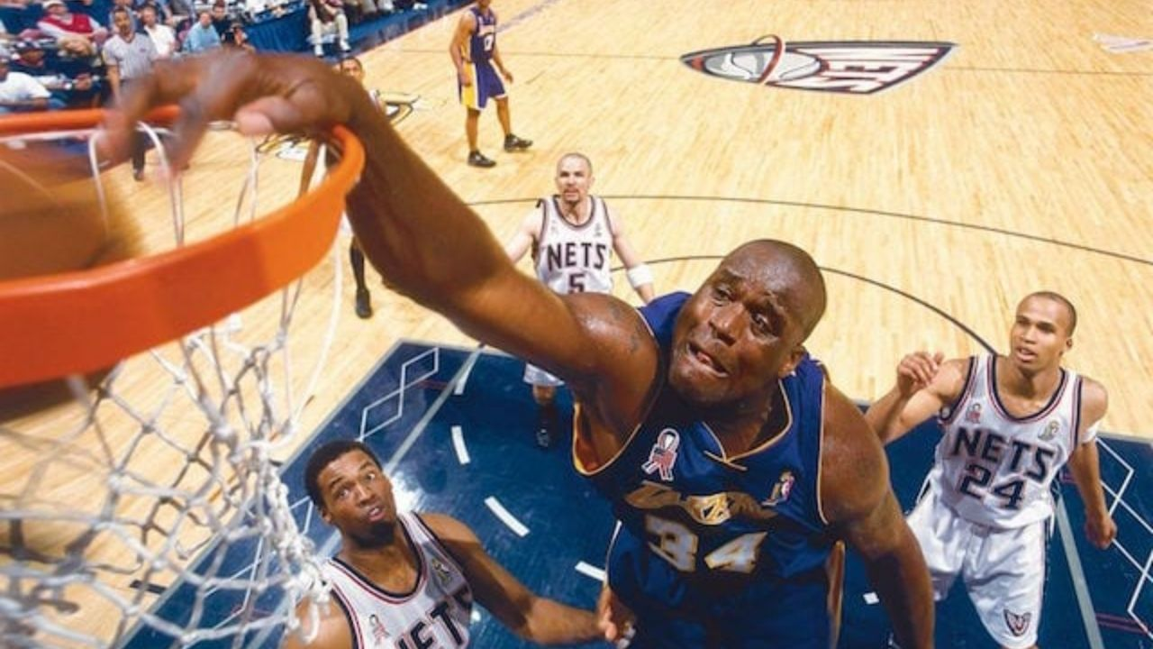 """""""Playing the 2002 Finals, against the Nets and especially against Todd McCollough, was really Boring!"""": Former Lakers superstar Shaquille O'Neal mocks the Brooklyn Nets roster"""