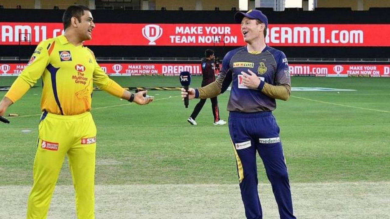 CSK vs KKR Head to Head in IPL history   Chennai Super Kings vs Kolkata Knight Riders IPL Stats   IPL 2021 Match 38