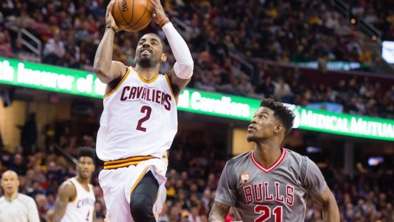 """""""Kyrie Irving literally just toys with guys with his shifty handles"""": Jimmy Butler reveals how the Nets... - The Sportsrush"""