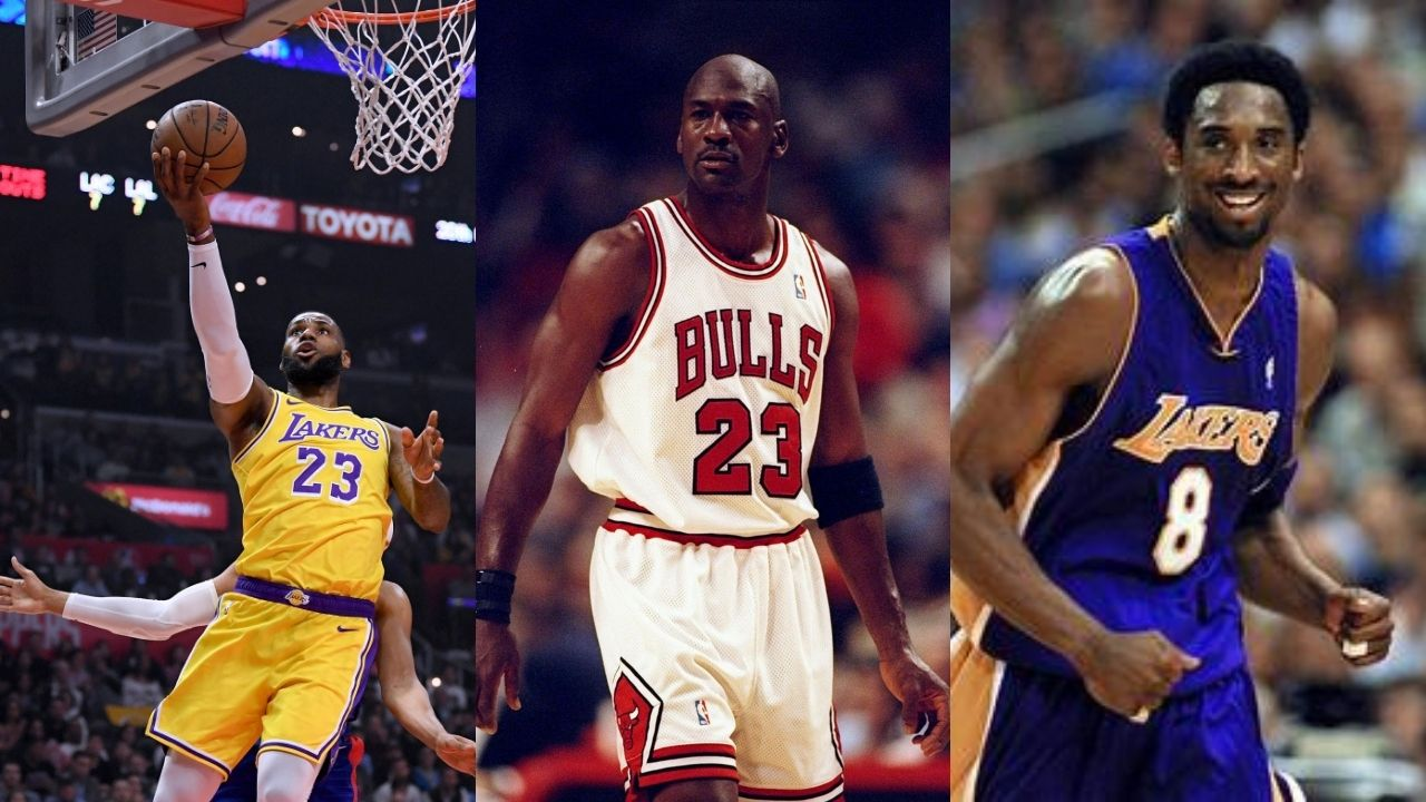 """""""Only Kobe Bryant, LeBron James and 2 others could survive my era"""": Michael Jordan claims to be able to come up with only four NBA superstars who could hang with him in the 90s"""