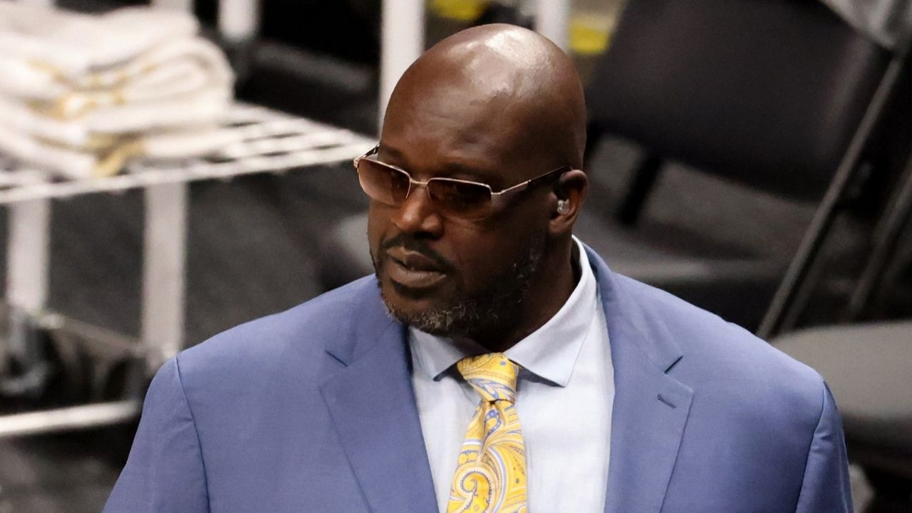 """""""I'd say Get Kyrie Irving outta here"""": Shaquille O'Neal denounces Nets point guard's anti Covid-19 vaccine stance, calls for Joe Tsai to trade him"""