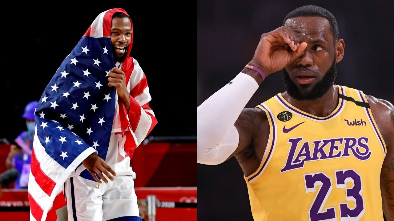 """""""I don't think LeBron James will join us"""": Former Warriors superstar Kevin Durant brushes aside rumors of his nemesis joining Dub Nation"""