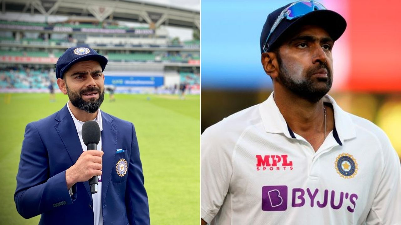 """""""England have four left-handers"""": Twitterati questions Virat Kohli's justification behind R Ashwin's omission at The Oval"""