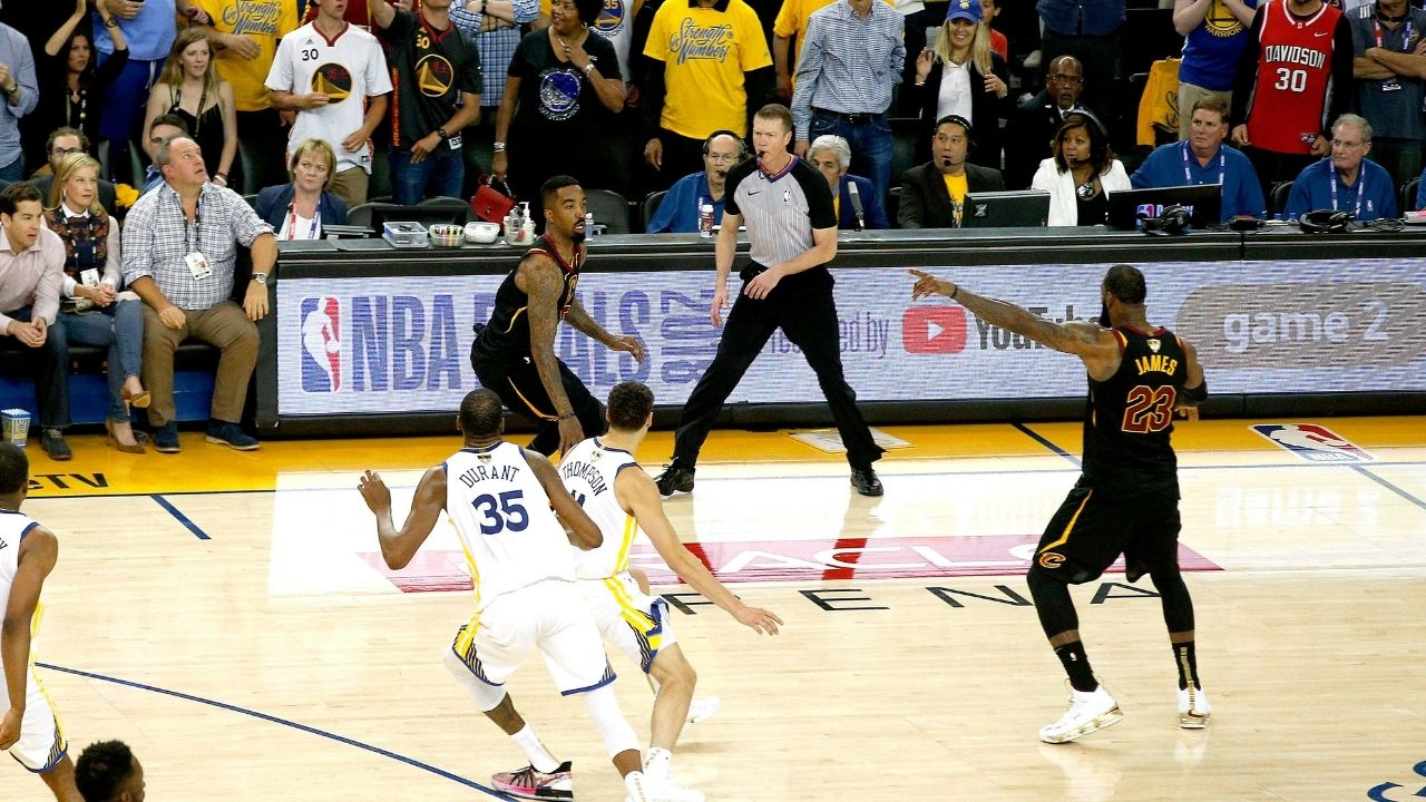 """""""I think that JR Smith fumble was a weed situation"""": Erik Griffin discusses on Joe Rogan's podcast how the then-Cavs guard might've been high on weed during the faux pass during Game 1 of the 2018 NBA Finals"""