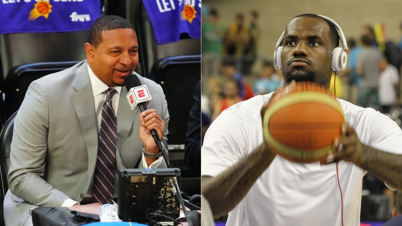 """""""Did you watch the same guy I watched?"""": Mark Jackson was dumbfounded when an NBA teammate said LeBron James was overhyped during his SVSM days"""