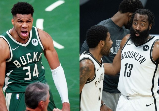 """""""James Harden never mentioned my name; I have nothing against him"""": Giannis Antetokounmpo tries to clear the air between him and the Nets superstar"""