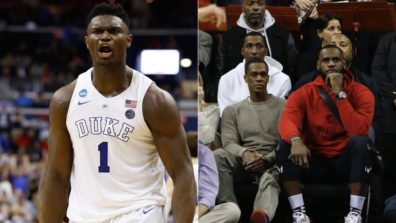 """""""Zion Williamson really impressed LeBron James with that unreal block"""": When the Duke star displayed his athleticism with a surreal block while the Lakers MVP was in attendance"""