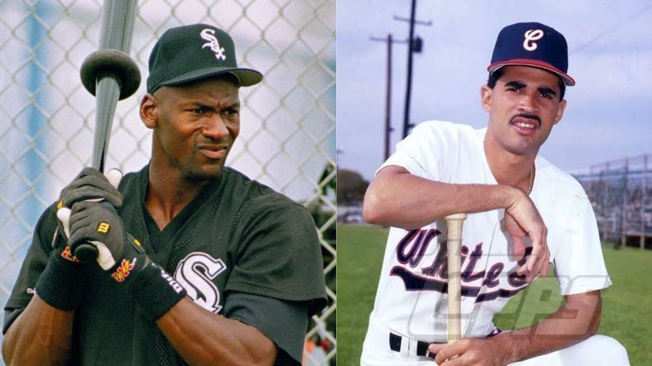 """""""Oh come on! You're not Michael Jordan!"""": When the MLB star Ozzie Guillén swapped cars with His Airness and was met with disappointment from the crowd"""