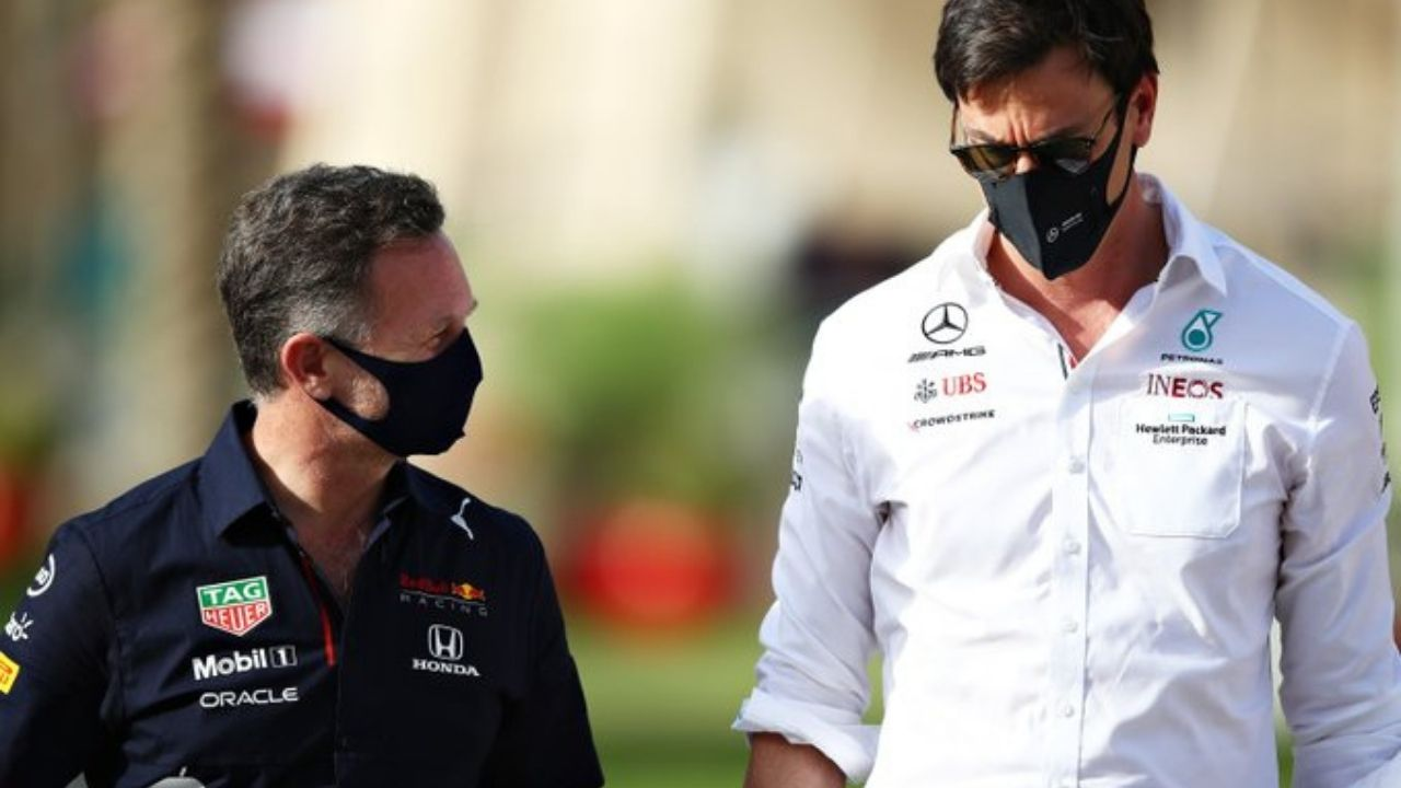 """""""Credit to Red Bull, they were faultless today"""" - Mercedes boss Toto Wolff admits to being surprised by Red Bull strategy of putting Max Verstappen on hard tyres"""