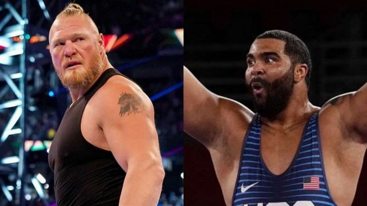 Gable Stevenson says Brock Lesnar played a big role in his decision to sign with WWE