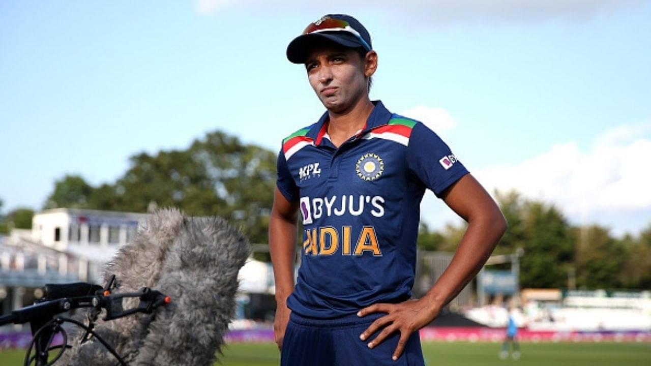 Why is Harmanpreet Kaur not playing today's 1st ODI between Australia Women vs India Women in Mackay?