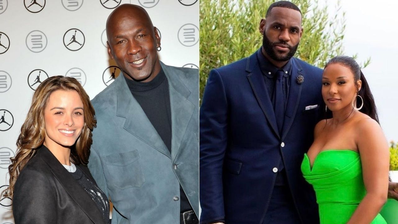 """""""Michael Jordan got engaged so LeBron James took it personally"""": When the two GOATs popped the question to Yvette Prieto and Savannah James within a week of each other"""