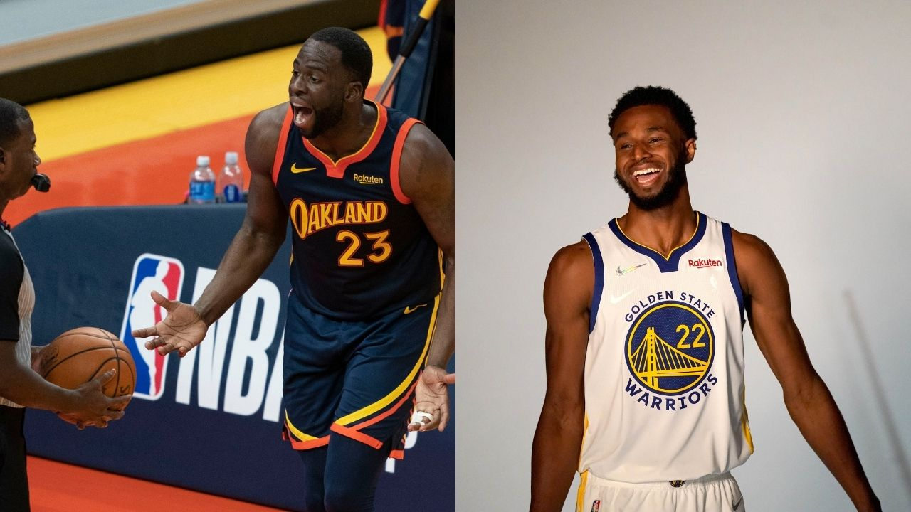 """""""Being unvaccinated and leaving the team is no different from a maternity leave"""": Draymond Green puts forth an unorthodox analogy while defending Warriors teammate, Andrew Wiggins"""