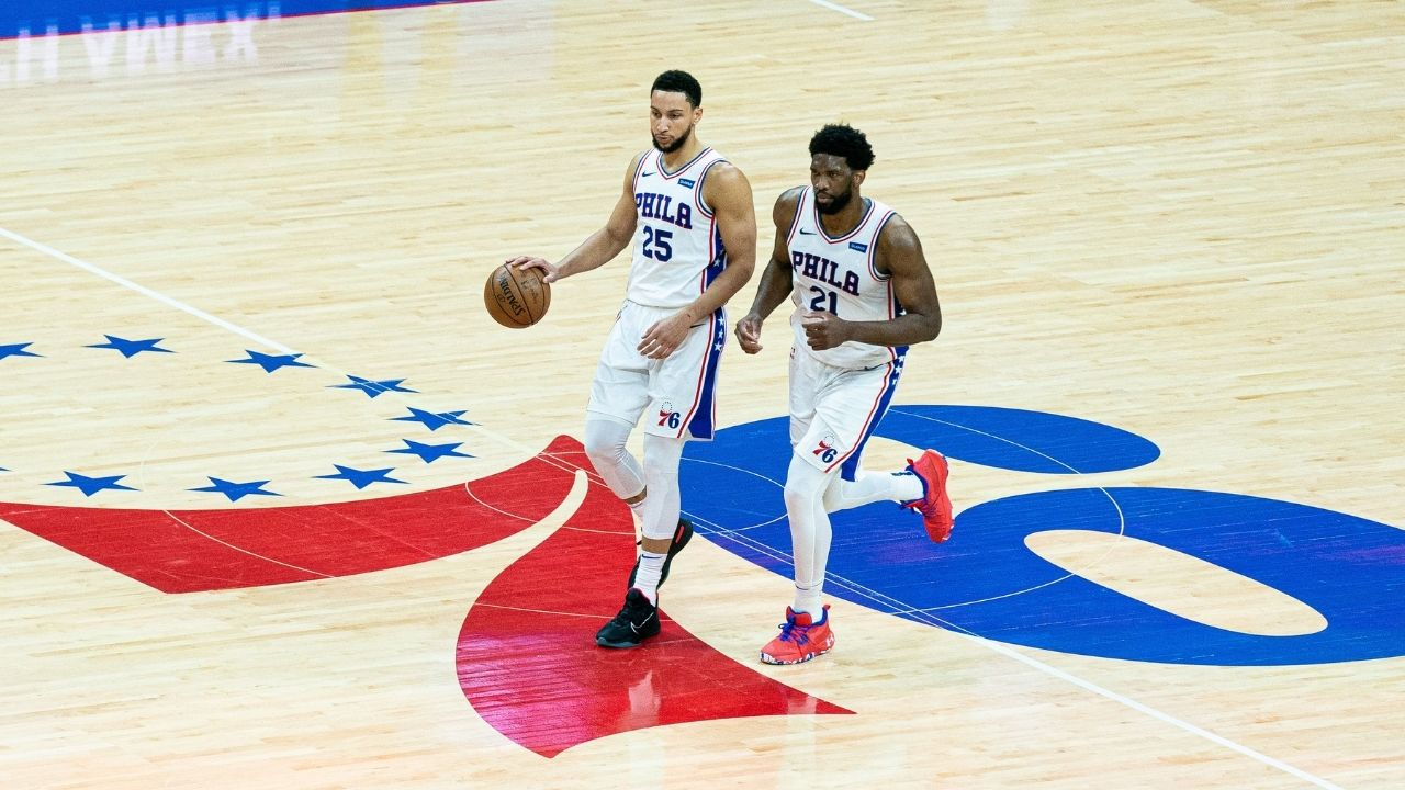 """""""It doesn't have to be awkward... Ben Simmons gives me the best chance to win"""": Sixers' Joel Embiid and Doc Rivers share their thoughts on the Australian PG being back in Philadelphia"""