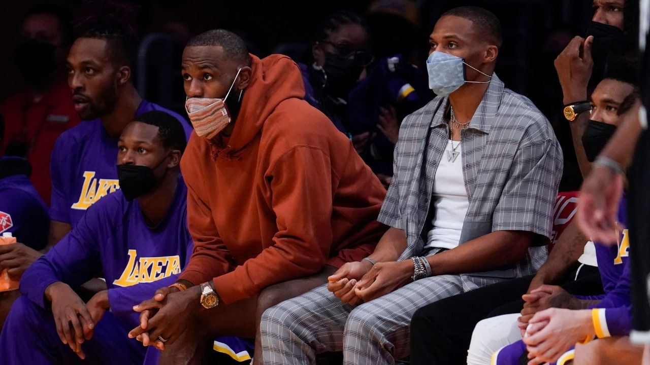 """""""Russell Westbrook was LeBron James' 5th option during the offseason!"""" : NBA Insider reveals how low down the Brodie was in Lakers' plans ahead of this season"""