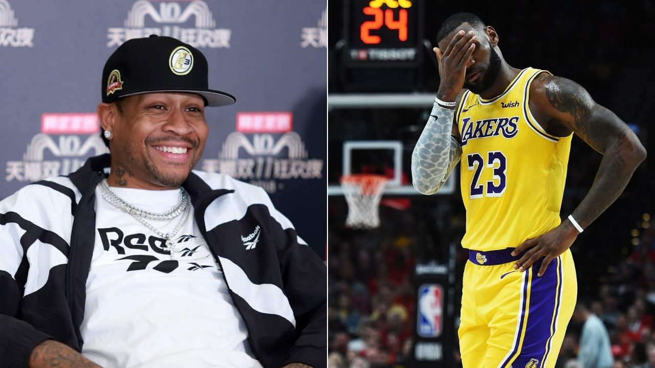 """""""If LeBron James is the GOAT then he's gotta belong on AI's list"""": Skip Bayless cites recent Allen Iverson take as ultimate 'gotcha' argument against stans of the Lakers superstar"""