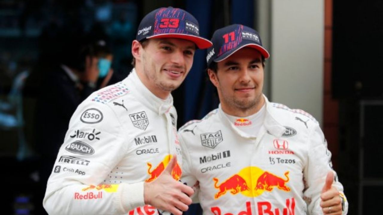 """""""You owe me a couple of tequilas""""– Sergio Perez to Max Verstappen after Mexican sensation saves Red Bull ace from Lewis Hamilton's wrath"""
