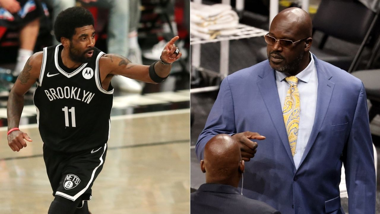 """""""I understand Kyrie Irving, but there are bylaws to be followed when you working in an organization"""": Shaquille O'Neal discourages the Nets star's recent stance on the COVID-19 vaccine"""