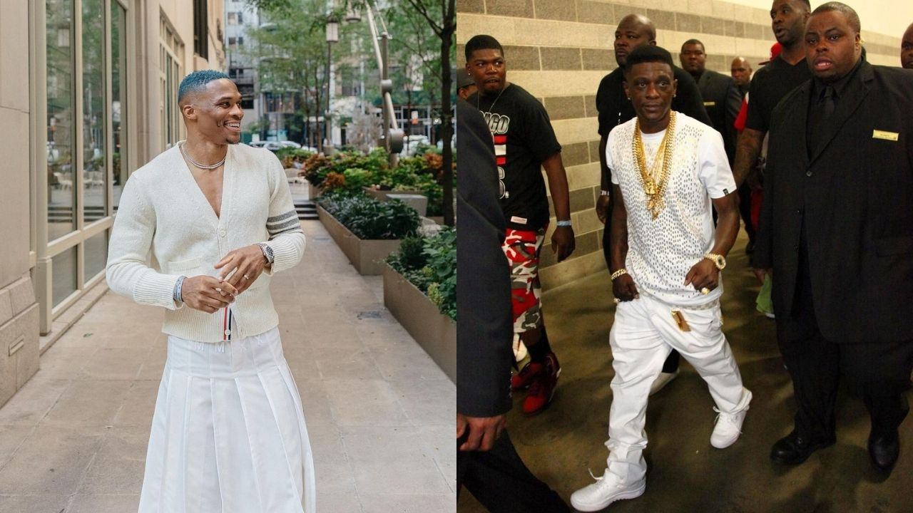 """""""You might like Russell Westbrook's game, but his dressing style ain't cool"""": Rapper Boosie Badazz cautions parents against the Lakers star's fashion influence"""
