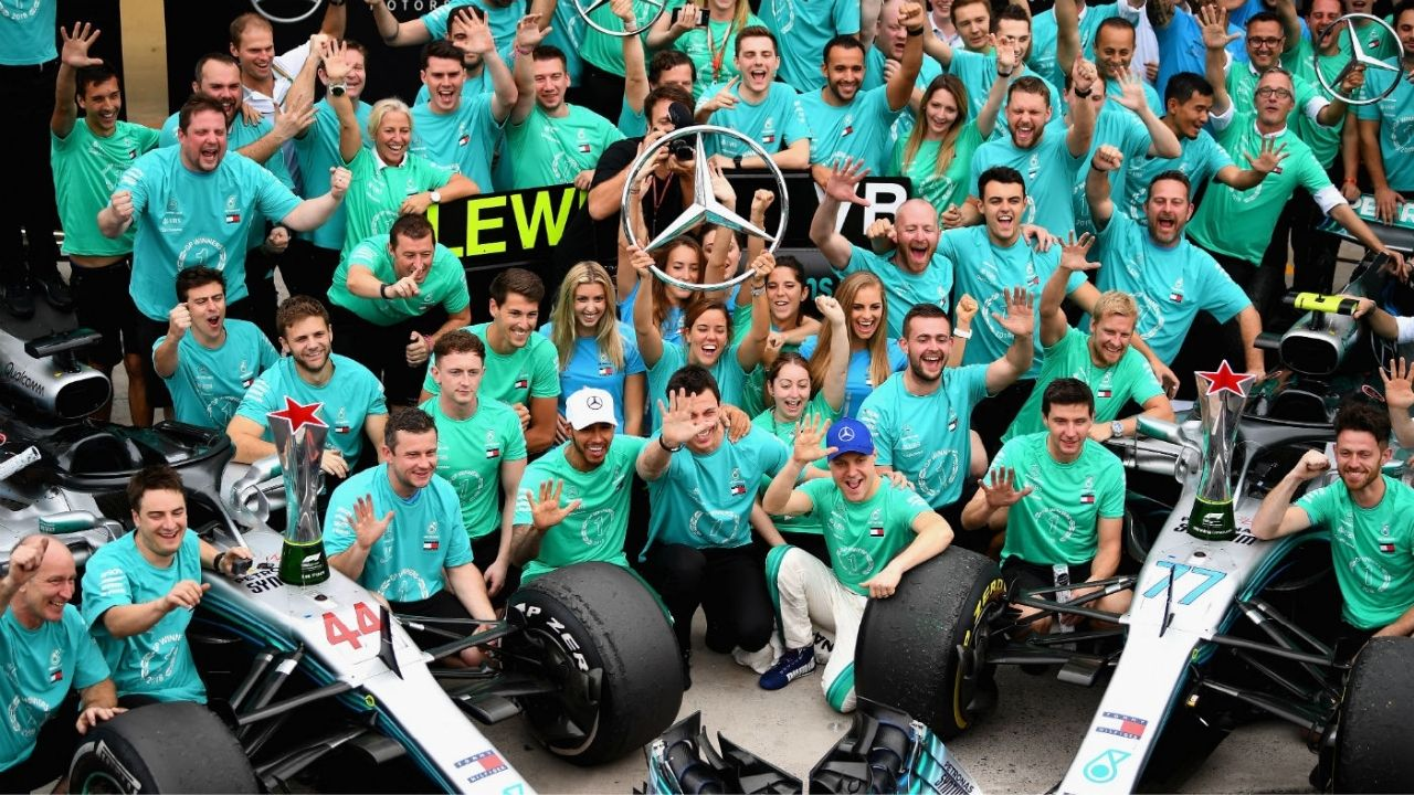 """""""We have thick enough skin""""– Mercedes are tolerant enough to tolerate outrageous slanders of seven-time world champion Lewis Hamilton"""