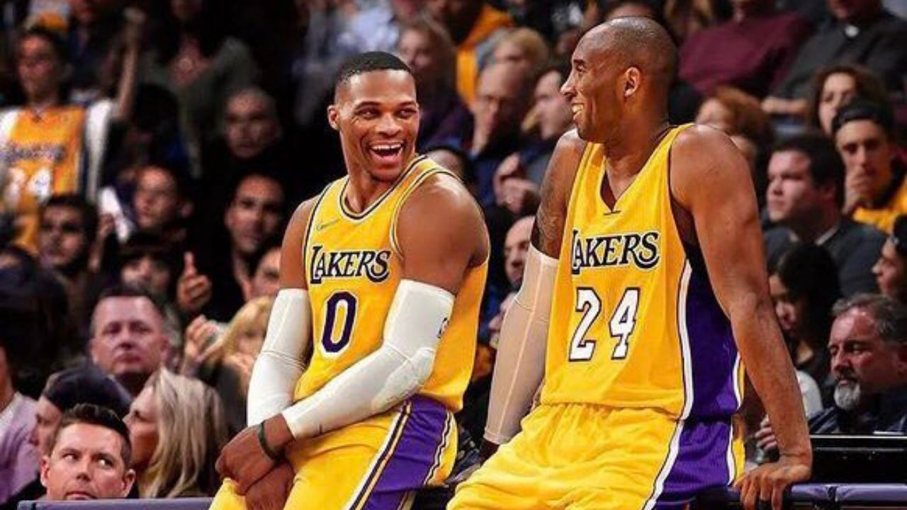 """""""Kobe Bryant was competing like it was the Finals!"""": Lakers' Russell Westbrook recalls how the Black Mamba taught him Mamba Mentality during a friendly pickup in UCLA"""